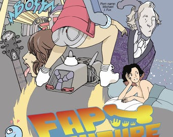 Fap To The Future Poster Print By Artist Brandon Graham