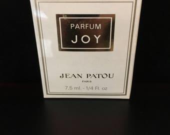 Joy Perfume sealed 1/4 oz Jean Patou Vintage Rare 1980's