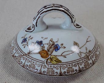 Ca. 1875 Alfred Meakin Sugar Bowl 'Lid' Only (Sugar Bowl Is Not Included)