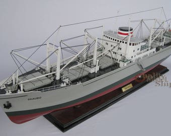 M.S. Kaubo Handcrafted Cargo Ship Model Scale 1:14