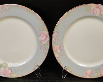 "TWO Mikasa Braemar Dinner Plates 10 3/4"" L2031 Set of 2 EXCELLENT!"