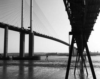 England Print, England Photography, Bridge Print, Bridge Wall Art, Bridge Photography, Architecture Print, Bridge Art, Bridge Photo