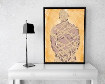 Mummy Man Digital Print