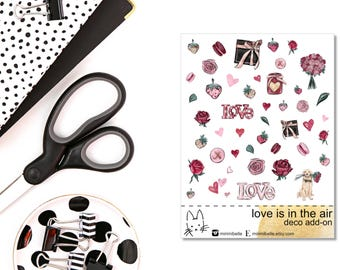 Love Is In The Air - ADD-ON Deco Sticker