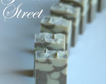 GRACECHURCH STREET Bar Soap | Jane Austen | Handmade Soap | Pride and Prejudice | Lemongrass | Jane Bennet | Winter Soap Collection