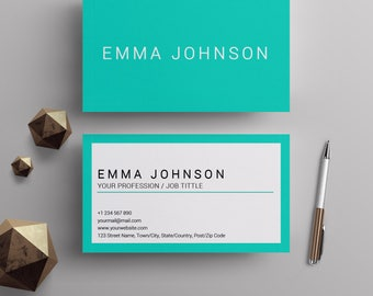 professional business card template printable business cards