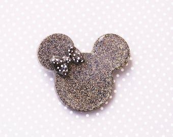 Disney Brooch -  After Dark Date Night Black and Gold Minnie Brooch