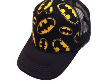 Bat Trucker Hat-Youth Size