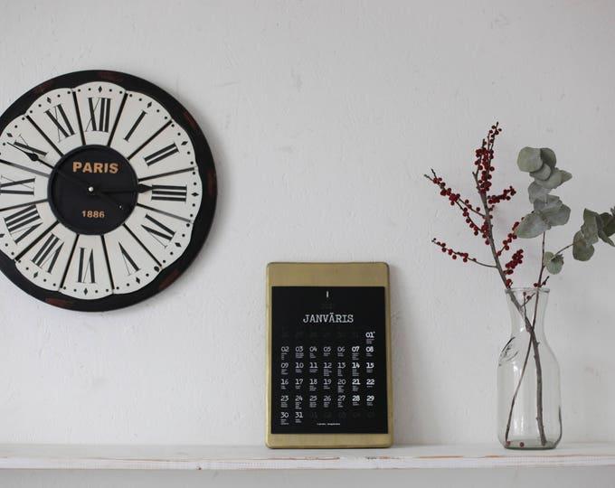zelta koka kalendārs