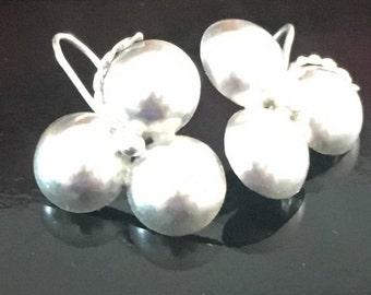 Saint Lucian Silver Earings