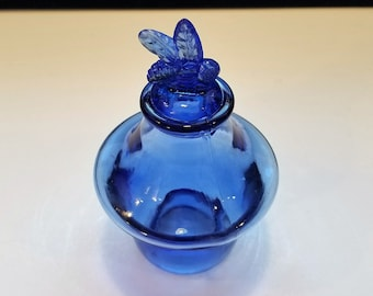 Cobalt Blue Glass Etsy