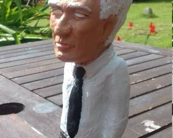 Jacques Derrida sculpture