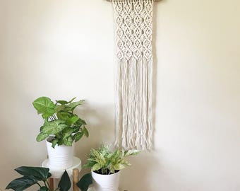 Macrame Wall Hanging, Bohemian Decor, Wall Hanging Woven, Weaving Wall Hanging, Newly Wed Gift, Modern Macrame, Macrame Wall Art, Home Decor