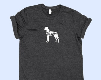 "Great Dane ""MAMA"" (with natural ears) - SHIRT"