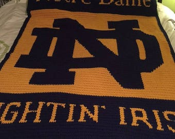 Notre Dame Fightin' Irish Blanket