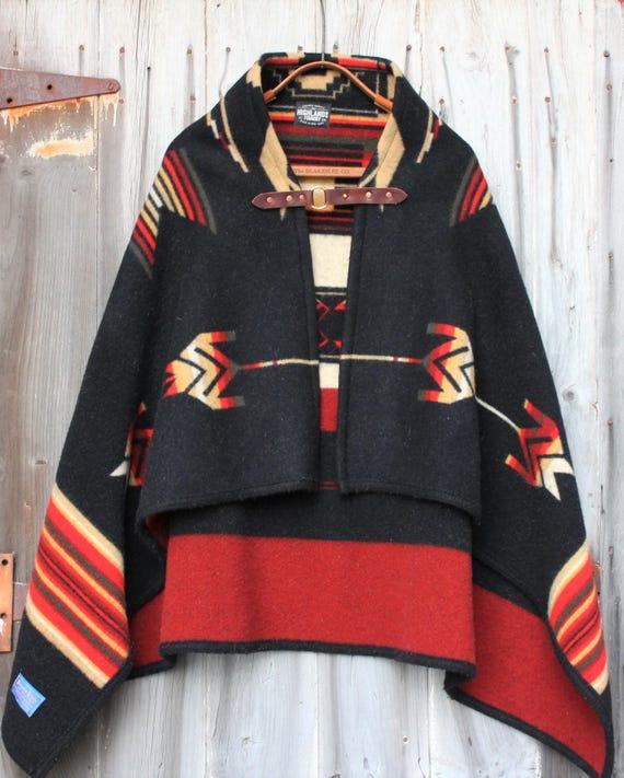 Pendleton Wool Poncho