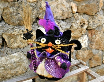 witch decor etsy - Halloween Witch Decorations