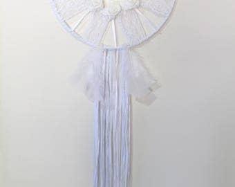 White Feathers Dreamcatcher