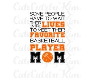 Favorite Player Basketball Mom svg