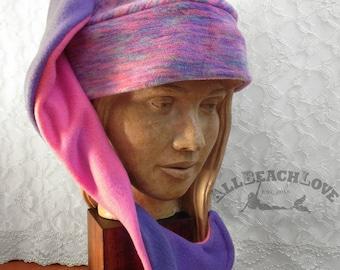 Mermaid Hat, Wife Gift, Mermaid Tail Hat, Mermaid Gift, Fleece, Mermaid, Winter Hat, Valentine Gift, Mermaid Tail, Mermaid's Helper, Beanie