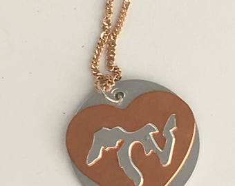 Great Lakes jewelry, great lakes copper jewelry, copper jewelry, great lakes necklace, lake superior jewelry, great lakes pendant, michigan