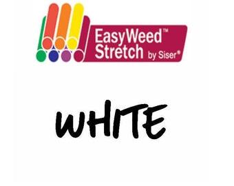 Siser EasyWeed Stretch Heat Transfer Vinyl - HTV - White