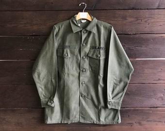 Vintage 90s Chun U.S. Army Button Up