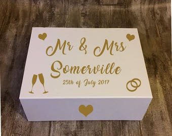 wedding box, personalised wedding box, wedding gift box, luxury wedding box, luxury gift box, bridal box, gift box, personalised gift box,