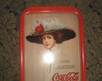Coca-Cola Serving Tray 1971 Hamilton King 1909 Girl