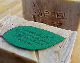 """""""Call Aleppo"""", SOAP way Aleppo in olive oil and to the macerated Laurel"""