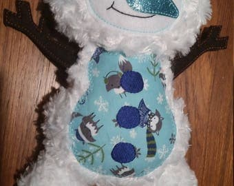 Adorable Winter Snowman Plush