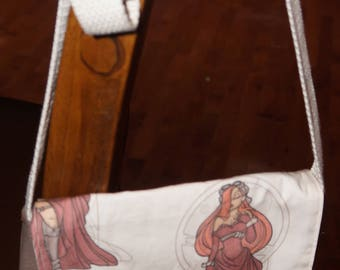 Steampunk Jessica Rabbit Mini Messenger Bag