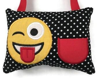 Tooth Fairy Pillow Boys - Girls Tooth Fairy Pillow - Emoji Tooth Fairy Pillow - Lost Tooth - Kids Tooth Pillow