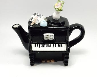 Decorative Piano Teapot