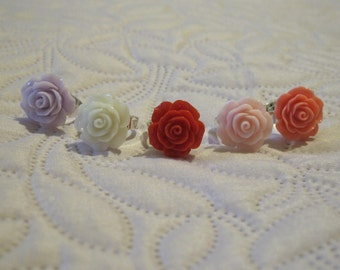 rose rings 5 colors options