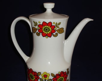 Vintage German china teapot