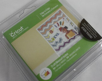 Cricut Cartridge Edge To Edge New Still Sealed In Original Packaging 50+ Unique Images Clock Hearts Starburst Compass Plaid Doily NEW
