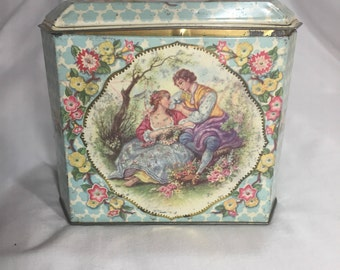 Regal Crown Tin, Vintage Advertising Container