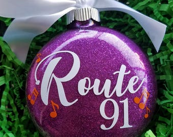 Route 91 Memorial Ornament - Route 91 music notes