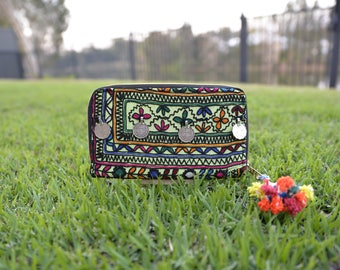 Banjara Clutch, Banjara Wallet, Banjara purse, Ethnic purse