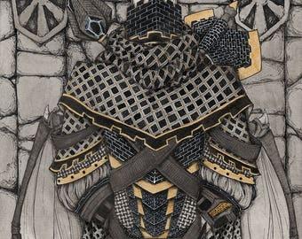 Black Rook #2 - print