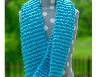 Mobius Infinity Scarf - Knit Infinity Scarf, Chunky Knit Scarf, Infinity Scarf, Hand Knitted Scarves, Chunky Scarf, Infinity Scarves