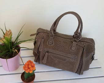 Leather hand Made in Italy