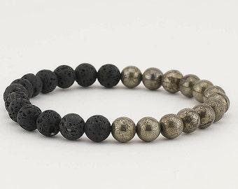 Essential oil bracelet, Diffuser bracelet, Lava bead bracelet, Aromatherapy jewelry, Oil diffuser bracelet, Beaded bracelet, Yoga bracelet