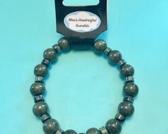 Men's Bracelet: Think Green