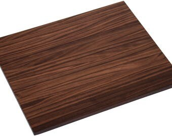 Walnut Wood Cutting Board and Serving Tray - Reversible Edge Grain