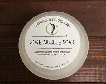 Soothing and Detoxifying Handmade Sore Muscle Soak