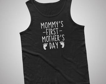 Mommys First Mothers Day Newborn Tank / T-Shirt