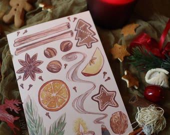 Christmas/Winter Holidays Greeting Card