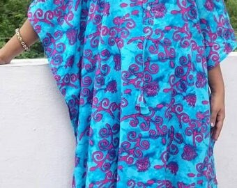 Delivery gown, maternity ,kaftan caftan, maternity hospital robe, hospital gown, pregnancy robe,batik robe, batik kaftan, batik maxi dress